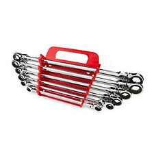 6-Pc. Ex Long Flex-Hd Ratchet Box End Wrench Set 8-19 Mm New