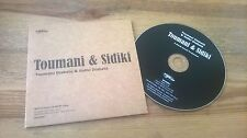 CD Ethno Toumani Diabate & Sidiki Diabate - Same (10 Song) Promo WORLDCIRCUIT cb