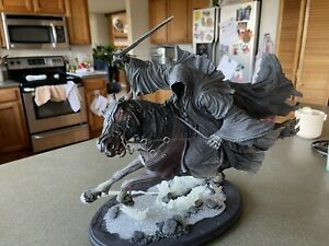 Weta Ringwraith At The Ford 1:6 Scale Lord Of The Rings Tolkien Rare The Hobbit