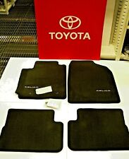 Celica Floor Mat Set with Logo                Original OEM Toyota PT206-20030-11