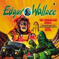 EDGAR WALLACE KLASSIKER EDITION - FOLGE 8-DER UNHEIMLICHE MÖNCH   CD NEW