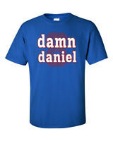 Damn Daniel, Daniel Jones 8 Graphic T New York Giants Tribute Shirt