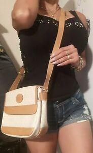 GUCCI Micro Small GG Canvas Cross Body Shoulder Bag white Beige PVC Vintage