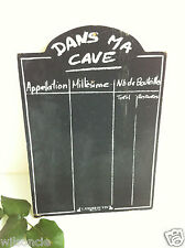 Chalkboard Dans ma cave by L'atelier du vin - Wine Cellar Black Board