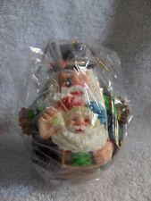 American Santas Through the Decades Roly Poly Santa NIB 1993 Ornament 1880
