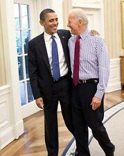 President Barack Obama Vice President Joe Biden 8 x 10 Photo Photograph Picture