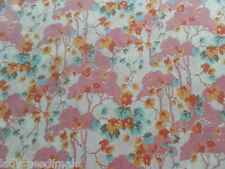 Liberty Tana césped tejido de algodón ombrellino 1,6 M pink/orange/turquoise 160cm