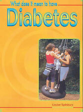 What Does it Mean to Have Diabetes? (What does it mean to have/be ...?) by Spil