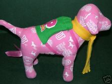Victoria's Secret VS PINK PHI BETA PINK DOG plush NWOT