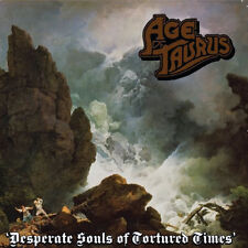 Age of Taurus - Desperate Souls of Tortured Times CD 2013 Rise Above press doom