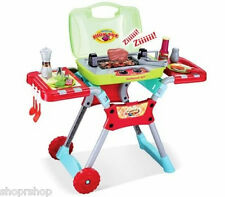 Deluxe Kitchen BBQ Pretend Play Grill Set with Light and Sound PS50A NEW