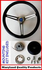 "Chevelle Nova Camaro Impala Grant Steering Wheel 15"" Stainless Steel Spokes"