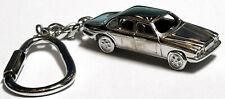 Vintage Schlüsselanhänger Jaguar Daimler massiv Silber 925 Schlüsselring