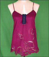 Bnwt Women's French Connection Strappy Top Blouse RRP£45 New Fcuk Purple
