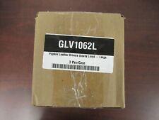 Partners Brand Glv1062L Pigskin Lthr Drivers Gloves,Lined,Large, Pk3Pairs [6B]
