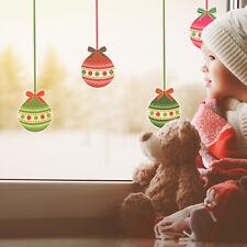 Christmas bauble window stickers   Christmas window sticker   Window décor