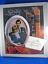 ROYAL WEDDING STAMP ALBUM 1981   (gg)