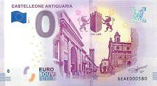CASTELLEONE ANTIQUARIA - SOUVENIR BILJET 0 EURO, Italy - 2018/1-UNC(SB21)