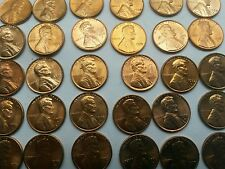 1963 & 1963-D red Lincoln BU Uncirculated memorial  cent hand picked