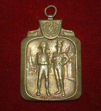 Old Vintage Paul Kramer Neuchatel Marked Swiss Military Bronze Medal