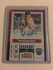 Tyler Holton 2017 Elite Extra Edition USA Contenders Cracked Ice Auto 06/24 FSU