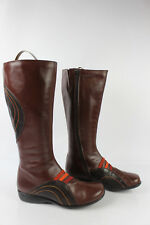 Boots MARETTI / Pomares Vasquez Brown Leather Chestnut T 36 VERY GOOD CONDITION