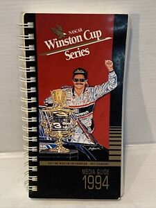 The Official Nascar Winston Cup Media Guide 1994 Dale Earnhardt Cover *Rare*