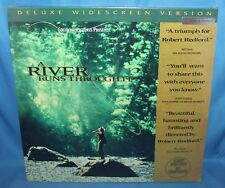 A RIVER RUNS THROUGH IT 1993 COLUMBIA PICTURES VIDEO LASER DISC  2 DISC SEALED