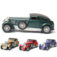 1:32 Vintage Bentley 8-Litre 1930 Model Car Diecast Toy Collection Pull Back