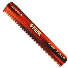"Kent SLIM JIM 4 1/2"" Handmade Men Women Pocket Comb all Fine. Sawcut"