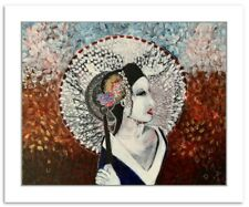 Portrait Limited Edition Giclee Print for Home Decor, Original Japanese Wall Art