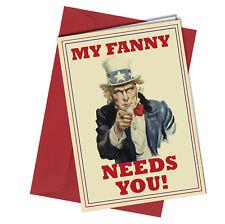 #54 San Valentino Compleanno o la mia carta FANNY ha bisogno di te umorismo per adulti divertente maleducato