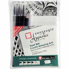 Sakura Pigma Zentangle Apprentice - 10 Tool Set - Pens, Pencils, Tiles