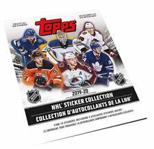 2019-20 TOPPS NHL HOCKEY STICKER ALBUM