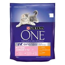 Purina ONE Kitten & Junior Dry Cat Food, Rich in Chicken 800g