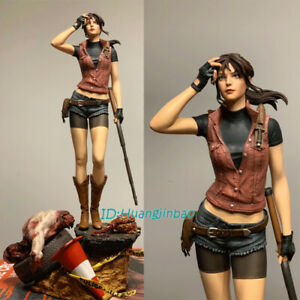 Resident Evil Claire Redfield 1/4 Statue Resin Figurine 22'' In Stock Green Leaf