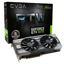 EVGA GeForce GTX 1070 8GB FTW GAMING ACX 3.0 Boost Graphics Card