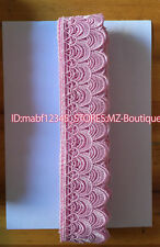 FP136E 1 Yard Lace Trim Ribbon For Dress Veil skirt Embroidered Sewing DIY Craft