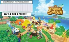 Animal Crossing AMIIBO Cards! ANY Villagers! YOU PICK! NFC PVC CARD Only