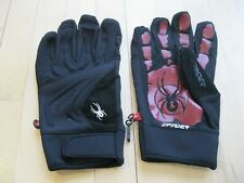 Spyder Moto Sports Motorcycle Gloves Black Red Men XL
