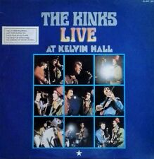 THE KINKS - LIVE AT KELVIN HALL - PRT - MADRID, SPAIN - 1980 LP