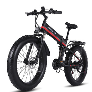 1000W Electric Bike 48V Motor Folding Ebike High Quality 4.0 Fat Tire Bike