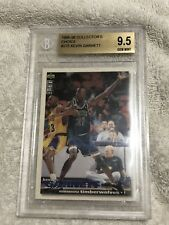 Kevin Garnett 1995-96 Collector's Choice Players Club Rookie Card BGS 9.5