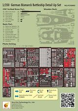Very Fire 1/350 VF350003 German Bismarck Detail Up Set for Tamiya