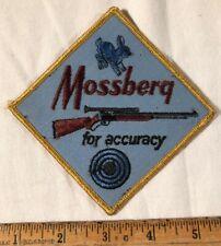 Vintage Mossberg 402 Palimino Rifle Patch Jack Rabbit For Accuracy Firearm Gun