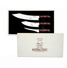 Bilité couteau premiumcut rocking chefs Micarta 3er set dans exclusif BOX