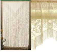 """Heritage Lace Chantily 60""""x84""""Geometric/Floral Panel-Gold."""