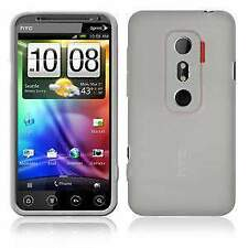 AMZER Soft Gel TPU Gloss Skin Fit Case Cover for HTC EVO 3D - Clear