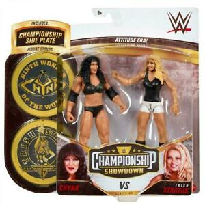 Trish Stratus vs Chyna WWE Championship Showdown 2 Pack Series 5