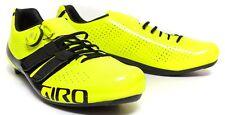 Giro Men Factor Techlace Carbon Road Bike Shoes boa EU 44 US 10.5 Yellow Black